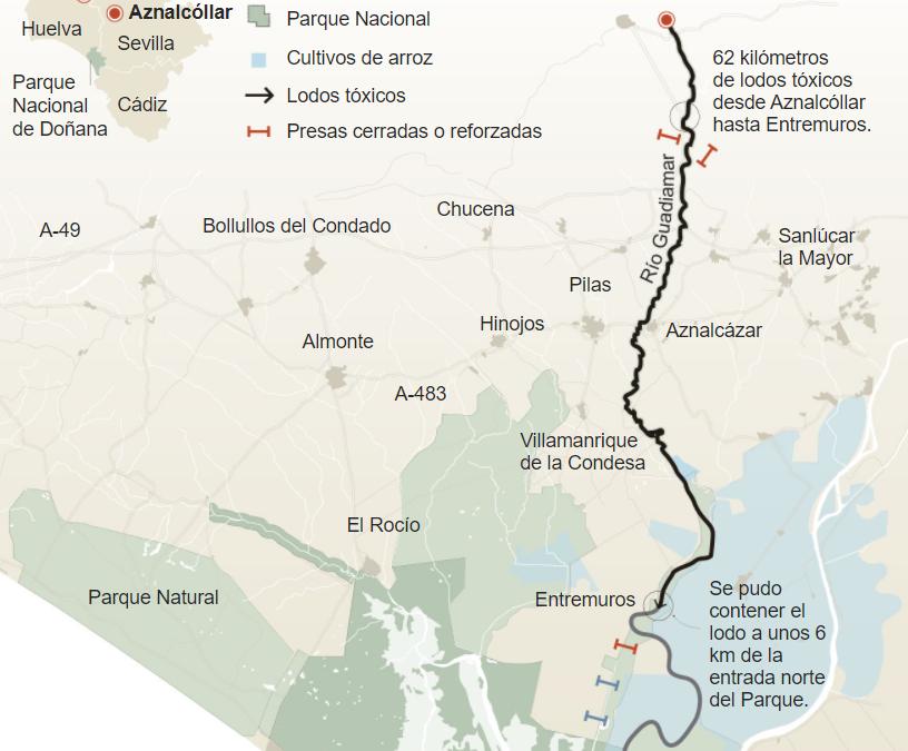 El desastre de Aznalcóllar: el riesgo se duplica 20 años después